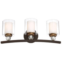 Painted Bronze Bathroom Vanity Lights