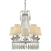 Minka-Lavery Signature 5 Light Mini Chandelier in Chrome 3131-77