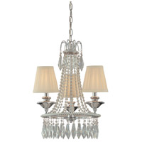 Signature 3 Light 16 inch Chrome Mini Chandelier Ceiling Light