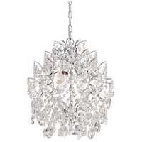 Isabellas Crown 3 Light 14 inch Chrome Mini Chandelier Ceiling Light