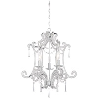 Signature 3 Light 19 inch Chrome Mini Chandelier Ceiling Light
