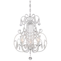 Signature 3 Light 17 inch Vintage Silver Mini Chandelier Ceiling Light