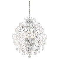Minka-Lavery 3157-77 Isabellas Crown 6 Light 22 inch Chandelier Ceiling Light