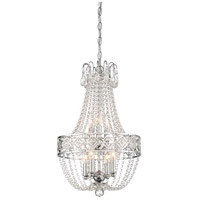 Signature 7 Light 14 inch Chrome Mini Chandelier Ceiling Light