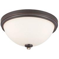 Minka-Lavery 3288-589 Shadowglen 3 Light 15 inch Lathan Bronze/Gold Flush Mount Ceiling Light