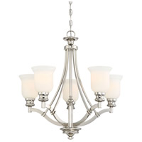 Audreys Point 5 Light 25 inch Polished Nickel Chandelier Ceiling Light