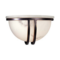 Minka-Lavery Signature 1 Light Sconce in Restoration Bronze 332-37
