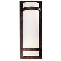 Signature 2 Light 7 inch Iron Oxide ADA Sconce Wall Light in GU24
