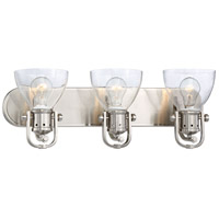 Signature 3 Light 24 inch Brushed Nickel Bath Bar Wall Light