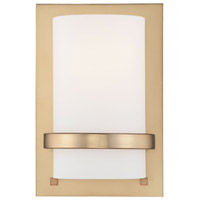 Minka-Lavery Signature 1 Light Sconce in Honey Gold 342-248 photo thumbnail