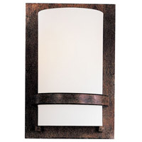 Minka-Lavery Signature 1 Light Sconce in Iron Oxide 342-357-PL
