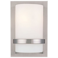 Minka-Lavery Signature 1 Light Sconce in Brushed Nickel 342-84