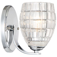Austine 1 Light 5 inch Chrome Wall Sconce Wall Light