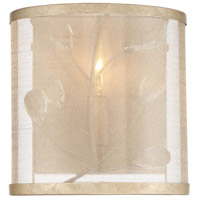 Saras Jewel 1 Light 7 inch Nanti Champaign Silver Bath Bar Wall Light