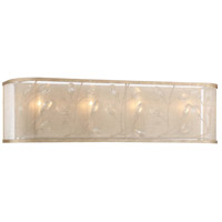 Saras Jewel 4 Light 26 inch Nanti Champaign Silver Bath Bar Wall Light