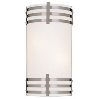Minka-Lavery Signature 2 Light Sconce in Brushed Nickel 344-84-PL