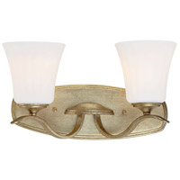 Laurel Estate 2 Light 17 inch Brio Gold Bath Bar Wall Light