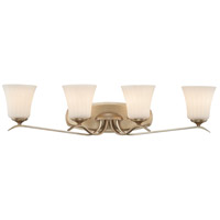 Laurel Estate 4 Light 34 inch Brio Gold Bath Bar Wall Light