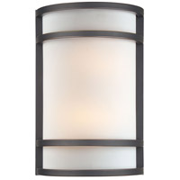 Minka-Lavery Signature 2 Light Sconce in Dark Restoration Bronze 345-37B-PL