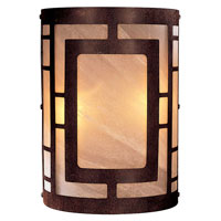 Minka-Lavery Signature 2 Light Sconce in Nutmeg 346-14-PL
