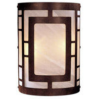 Minka-Lavery Signature 2 Light Sconce in Nutmeg 346-14