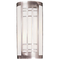 Minka-Lavery 347-84-PL Signature 2 Light 8 inch Brushed Nickel ADA Sconce Wall Light photo thumbnail
