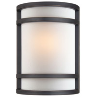 Minka-Lavery Signature 1 Light Sconce in Dark Restoration Bronze 348-37B