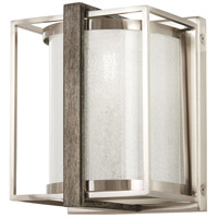 Tysons Gate 1 Light 6 inch Brushed Nickel with Shale Wood Wall Sconce Wall Light