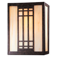 Minka-Lavery Signature 1 Light Sconce in Iron Oxide 362-357 photo thumbnail