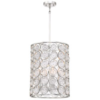 Minka-Lavery 3664-598 Culture Chic 4 Light 14 inch Catalina Silver Pendant Ceiling Light