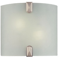 Minka-Lavery Signature 2 Light Sconce in Brushed Nickel 372-84-PL