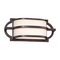 Minka Lavery Mission Grove LED Bath Light in Dark Brushed Bronze (Painted) 381-267B-L