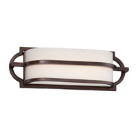 Minka Lavery Mission Grove LED Bath Light in Dark Brushed Bronze (Painted) 382-267B-L