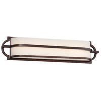 Mission Grove LED 24 inch Dark Brushed Bronze Painted Bath Wall Light