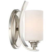 Tilbury 1 Light 5 inch Polished Nickel Bath Sconce Wall Light