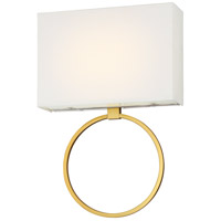 Chassell LED 13 inch Painted Honey Gold with Polished Nickel Wall Sconce Wall Light