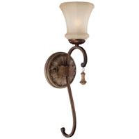 Minka-Lavery Candlewood 1 Light Wall Sconce in Rustique Patina 4120-563