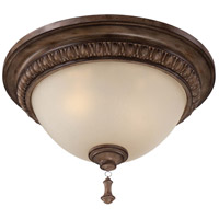 Minka-Lavery Candlewood 2 Light Flushmount in Rustique Patina 4127-563