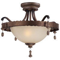 Minka-Lavery Candlewood 2 Light Semi-Flush in Rustique Patina 4128-563