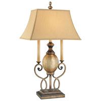 Minka-Lavery La Cecilia 1 Light Table Lamp in Patina Iron 4140-3-573 photo thumbnail