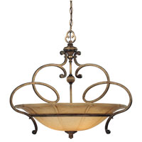 Minka-Lavery La Cecilia 3 Light Pendant in Patina Iron 4143-573