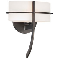 Minka-Lavery Fieldale Lodge 1 Light Sconce in Smoked Iron 4151-172