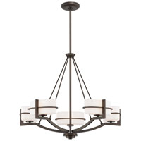 Minka-Lavery Fieldale Lodge 5 Light Chandelier in Smoked Iron 4155-172