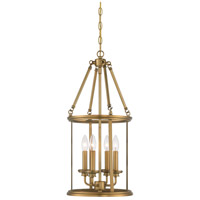 Minka-Lavery Harbour Point 4 Light Pendant in Liberty Gold Finish 4174-249
