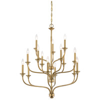 Minka-Lavery Harbour Point 15 Light Chandelier in Liberty Gold 4178-249