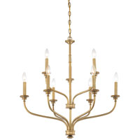 Minka-Lavery Harbour Point 9 Light Chandelier in Liberty Gold 4179-249