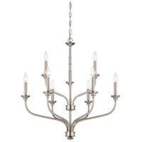 Minka-Lavery Harbour Point 9 Light Chandelier in Brushed Nickel 4179-84