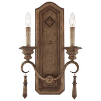 Minka-Lavery Abbott Place 2 Light Sconce in Classic Oak Patina 4202-290