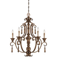 Minka-Lavery Abbott Place 5 Light Chandelier in Classic Oak Patina 4205-290