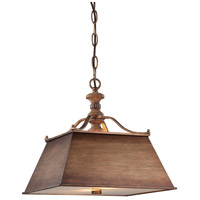 Minka-Lavery Abbott Place 2 Light Pendant in Classic Oak Patina 4207-290